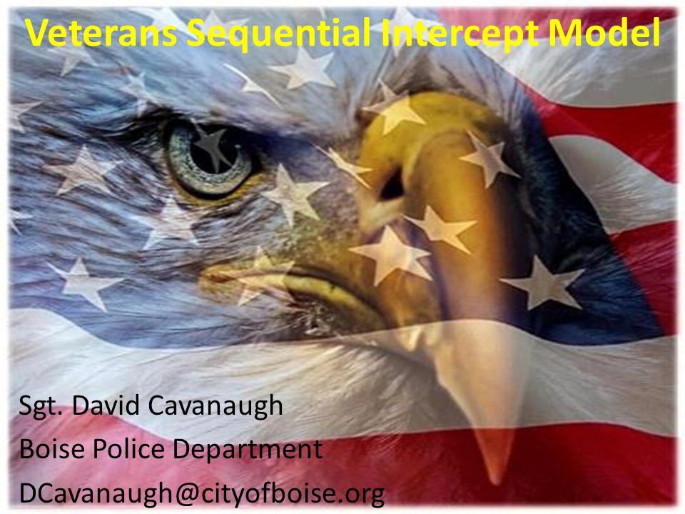Veterans Sequential Intercept Model Sgt.
