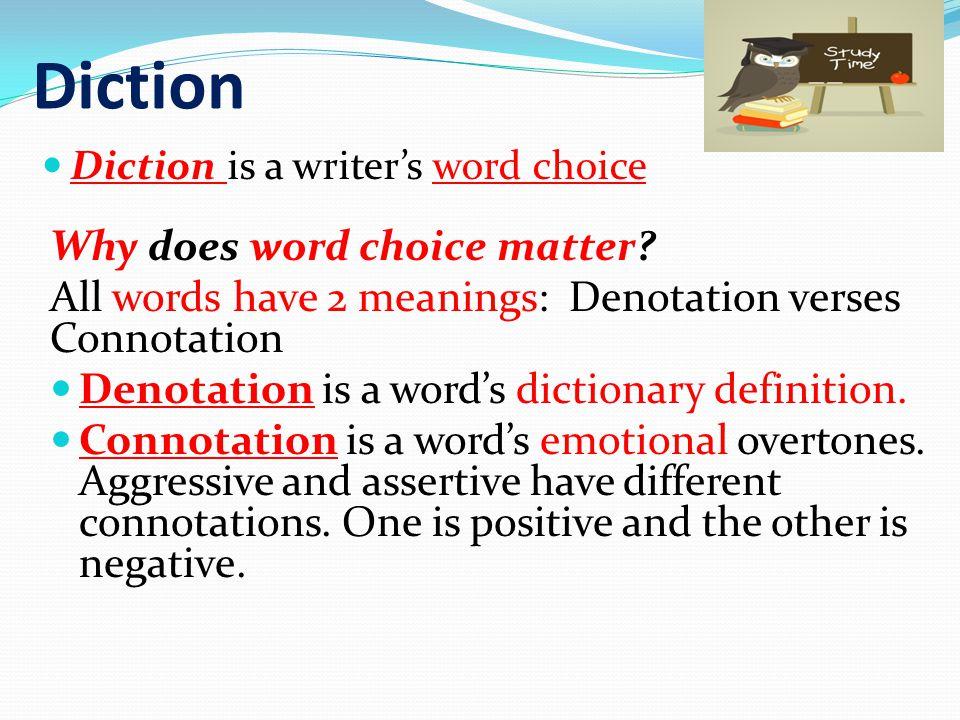 Denotation vs.