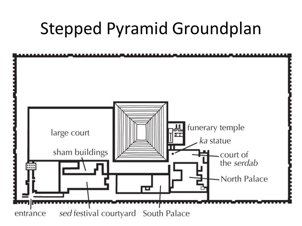 Stepped Pyramid Groundplan