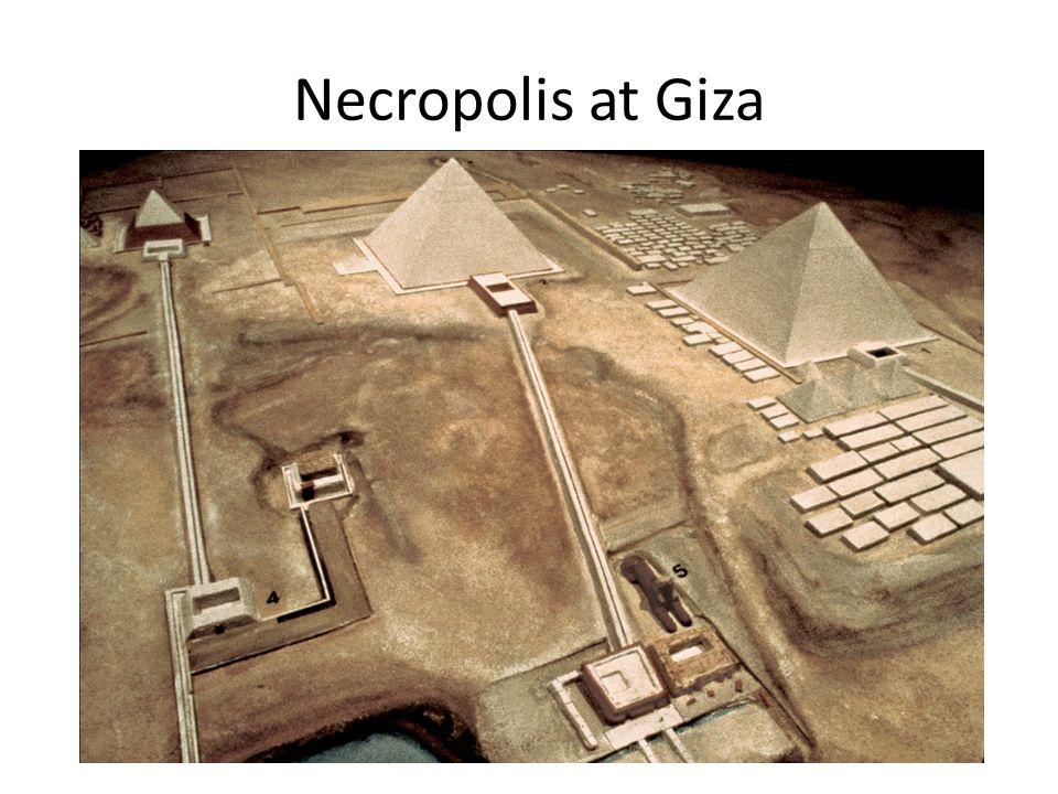 Necropolis at Giza