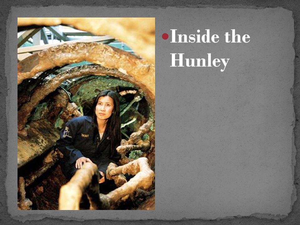 Inside the Hunley