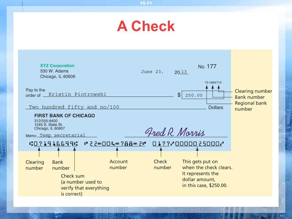 A Check 15-11