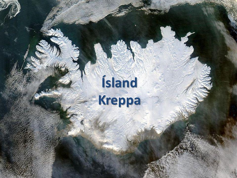 Ísland Kreppa