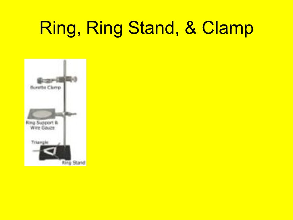 Ring, Ring Stand, & Clamp