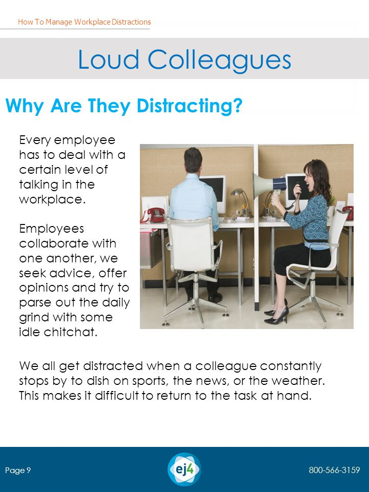 Loud Colleagues Why Are They Distracting.