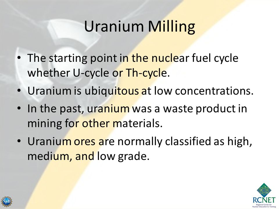 Uranium Material Production - Manhattan Project