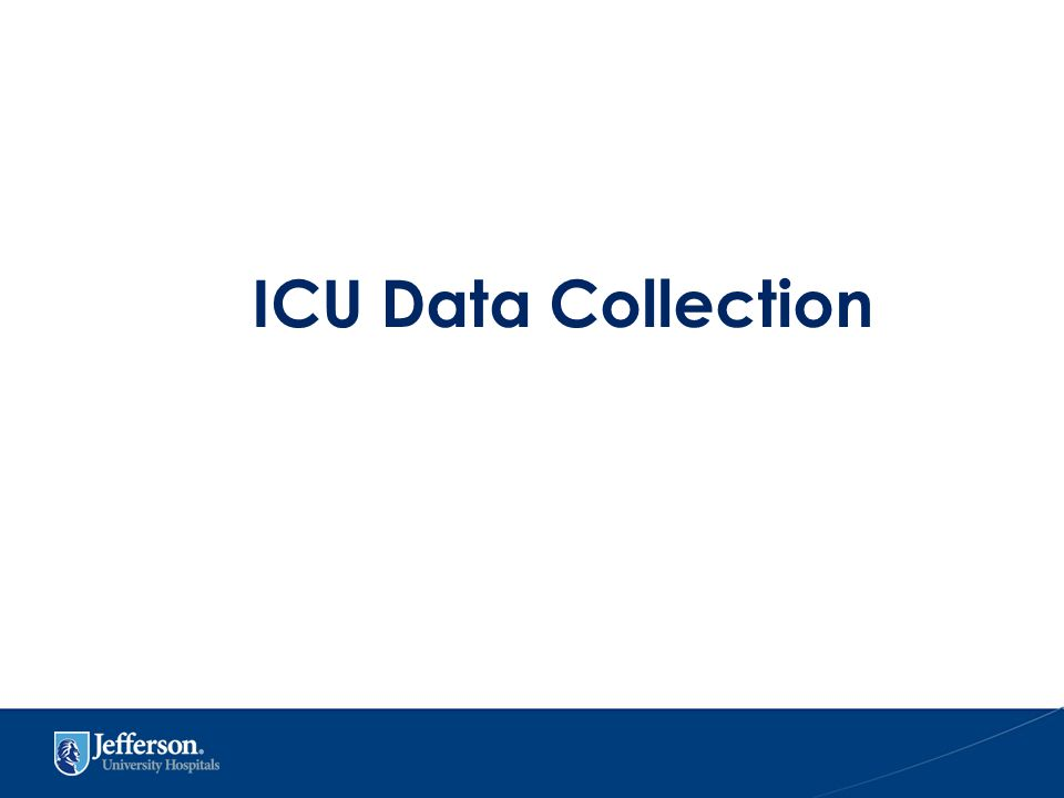 ICU Data Collection