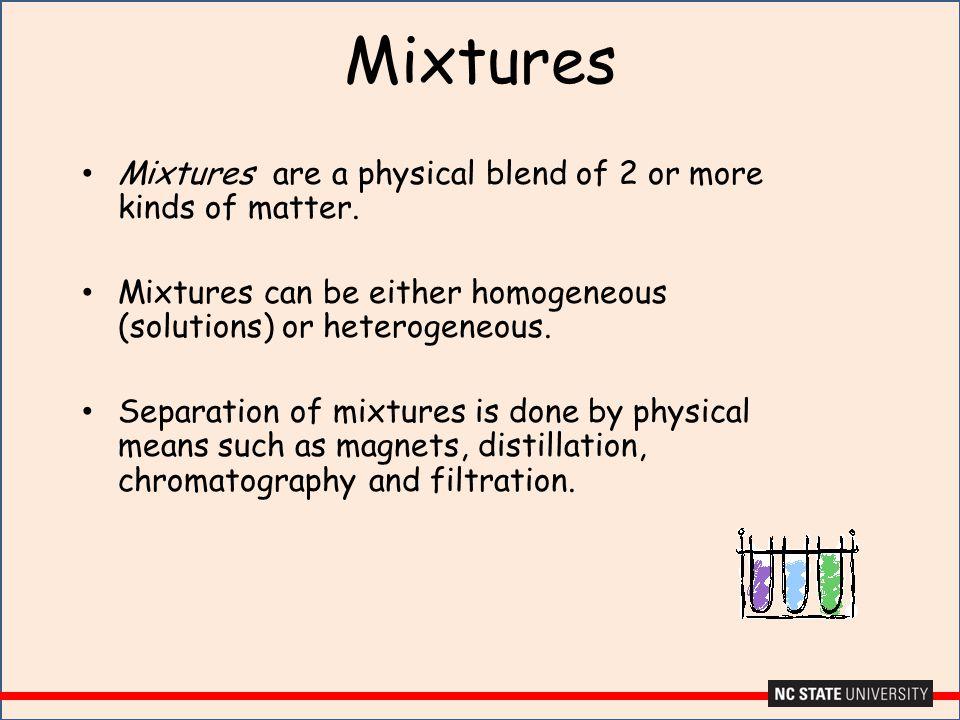 Pure Substances A pure substance has a fixed composition.