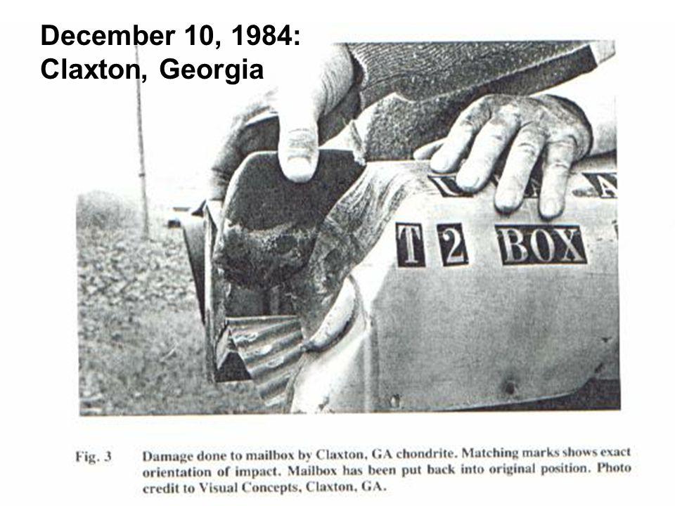 December 10, 1984: Claxton, Georgia