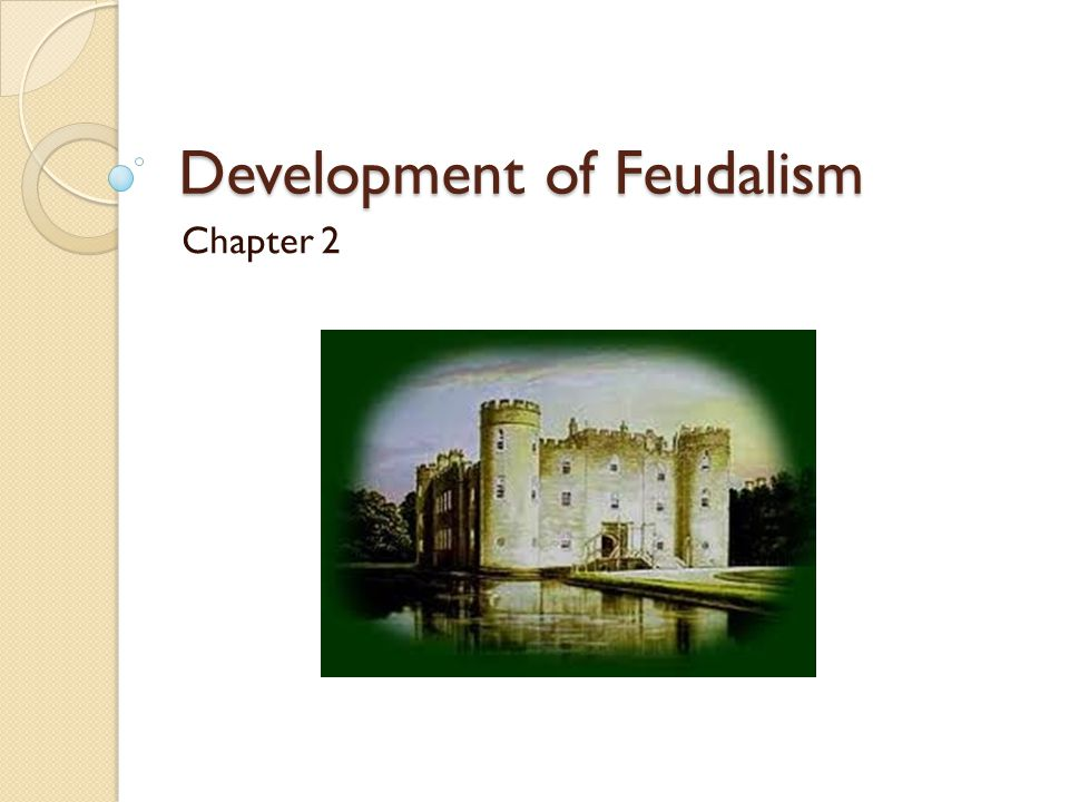 How feudalism works All the land in the kingdom belong to the monarch (a king or queen).