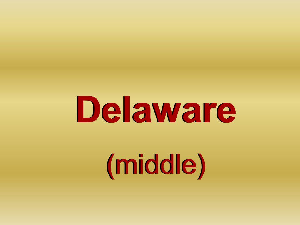 Delaware (middle) Delaware (middle)