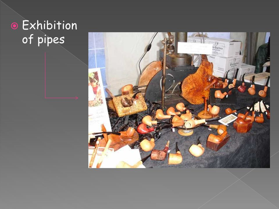  Exhibition of pipes