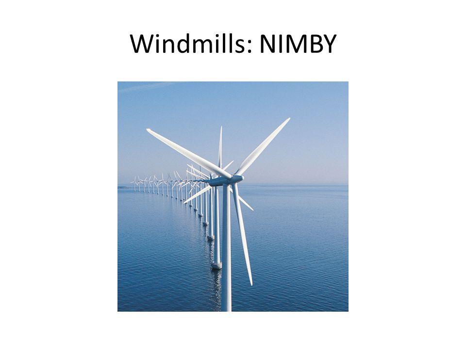 Windmills: NIMBY
