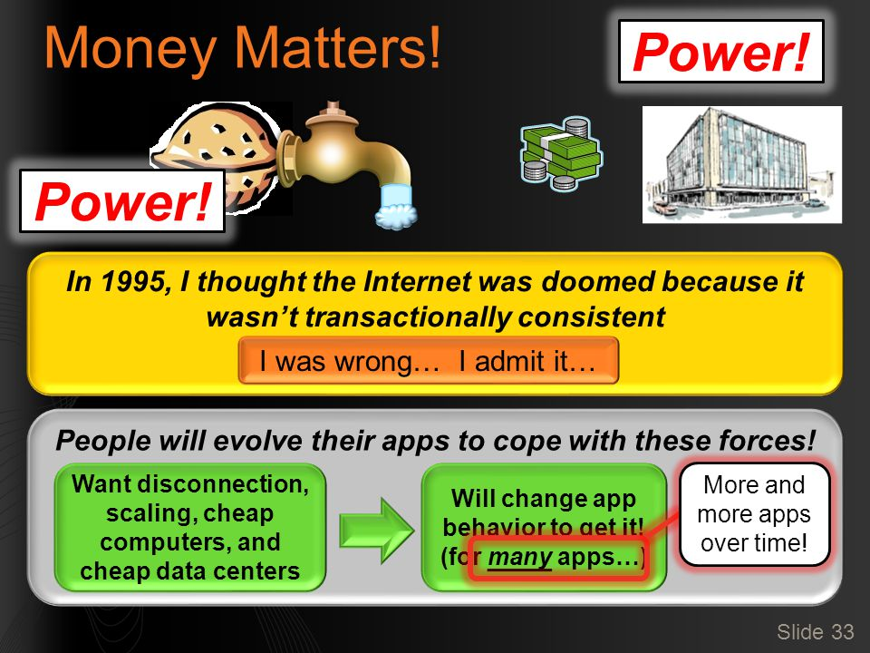 Power. Money Matters.