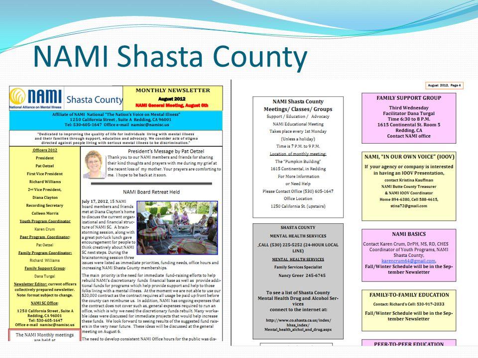 NAMI Shasta County