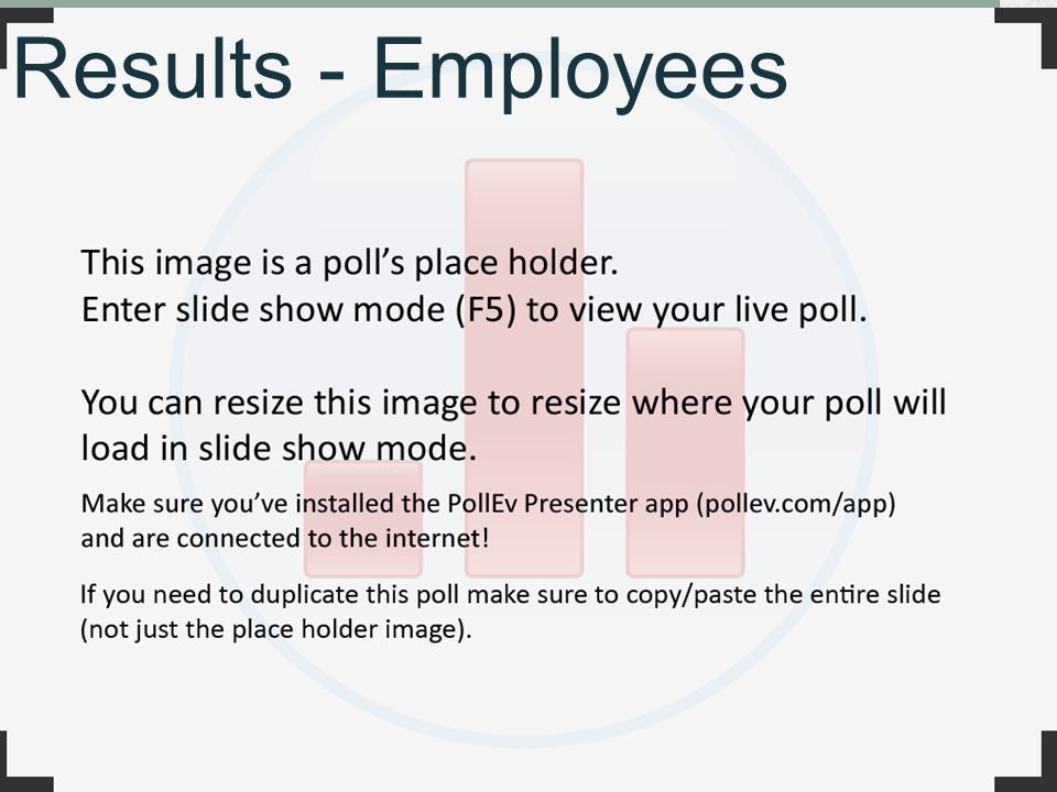 Results - Employees