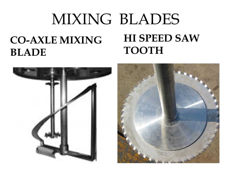 MIXING BLADES CO-AXLE MIXING BLADE HI SPEED SAW TOOTH