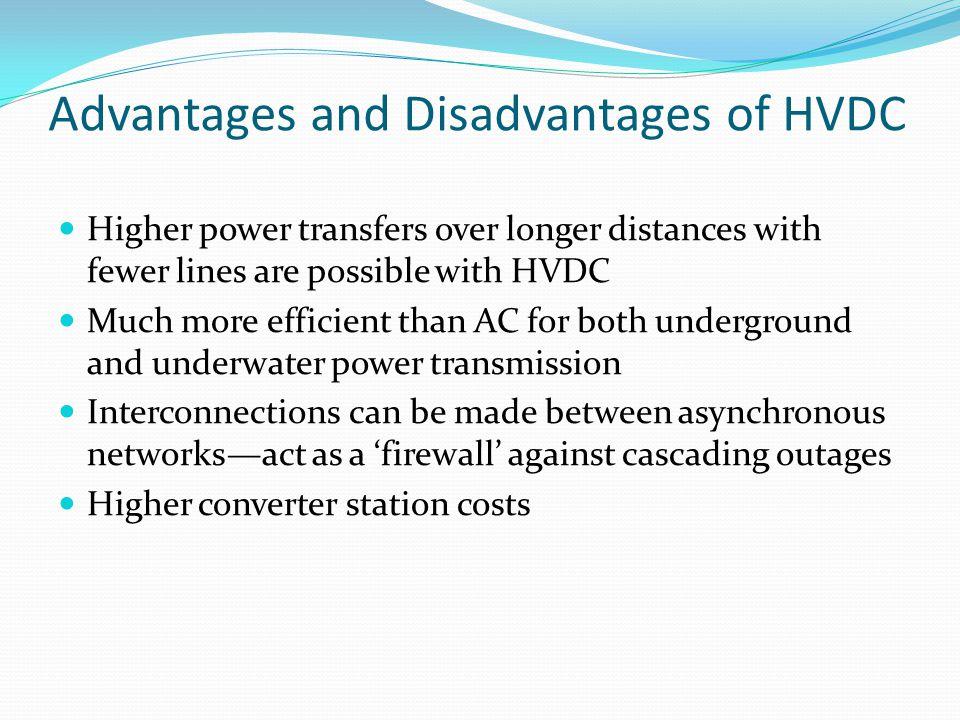 High Voltage DC versus AC