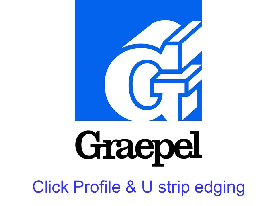 Click Profile & U strip edging