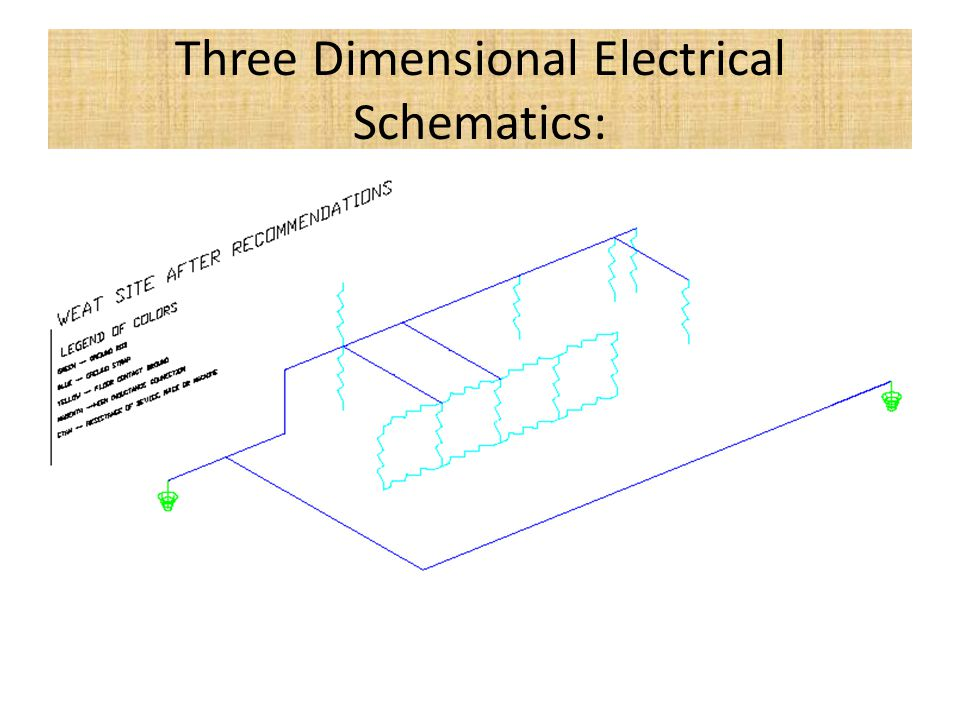Three Dimensional Electrical Schematics: