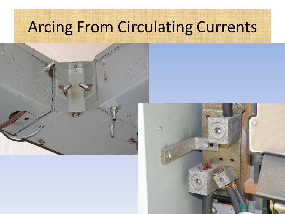 Arcing From Circulating Currents
