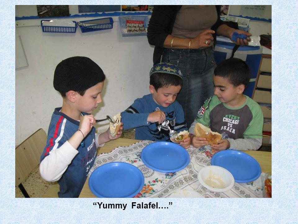 Yummy Falafel….