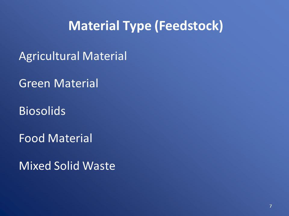 Volume to be Processed Compost Excluded 500 yd 3 or less material generated on site Notification 12,500 yd 3 or less green material Full Permit >12,500 yd 3 green material &/or other material Chip and Grind Notification < 200 tons per day Registration 200 to 500 tons per day Full Permit > 500 tons per day 8