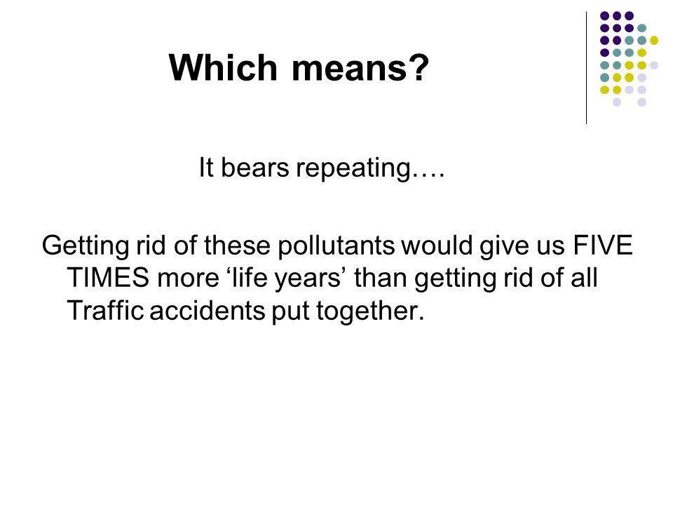 It bears repeating….