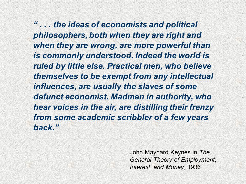 Y = C + I + G + X Q = f ( L, K ) In the Microeconomic World In the Macroeconomic World Some Economic World Scribbles