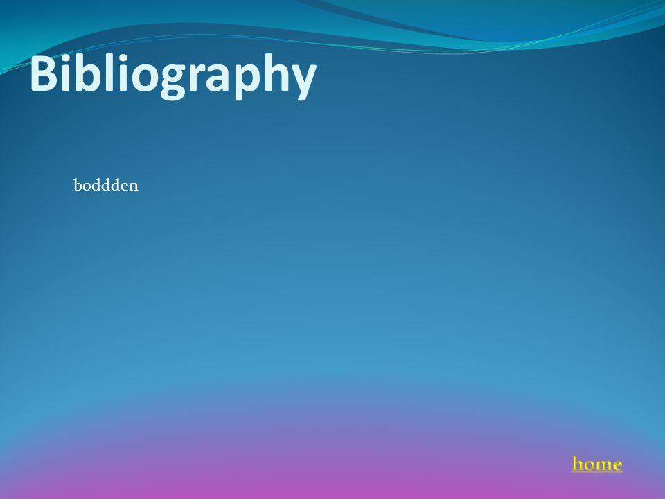 Bibliography boddden