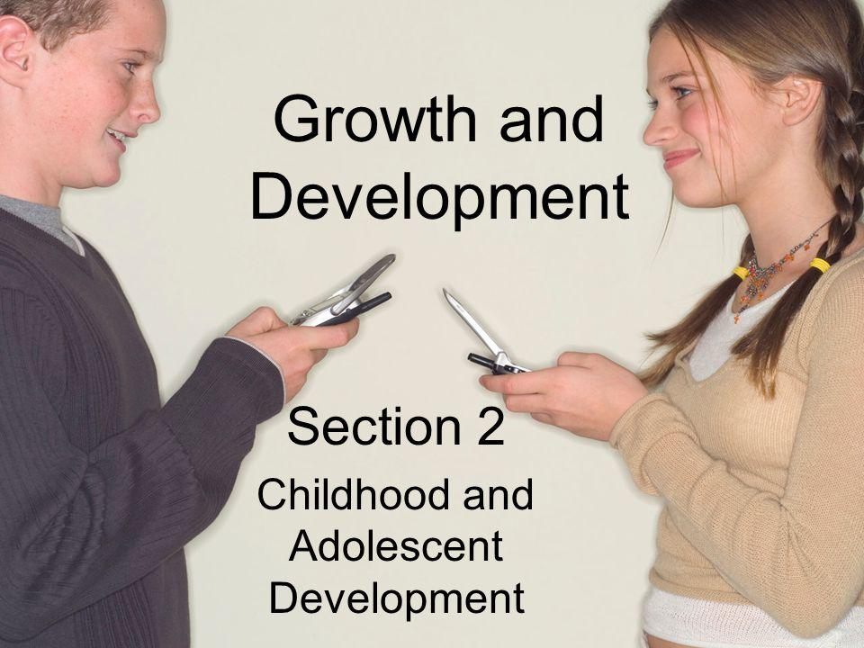 Social Growth Adolescents face many developmental tasks.