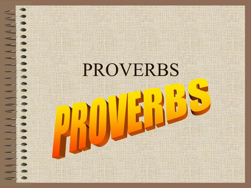 Essay on proverb