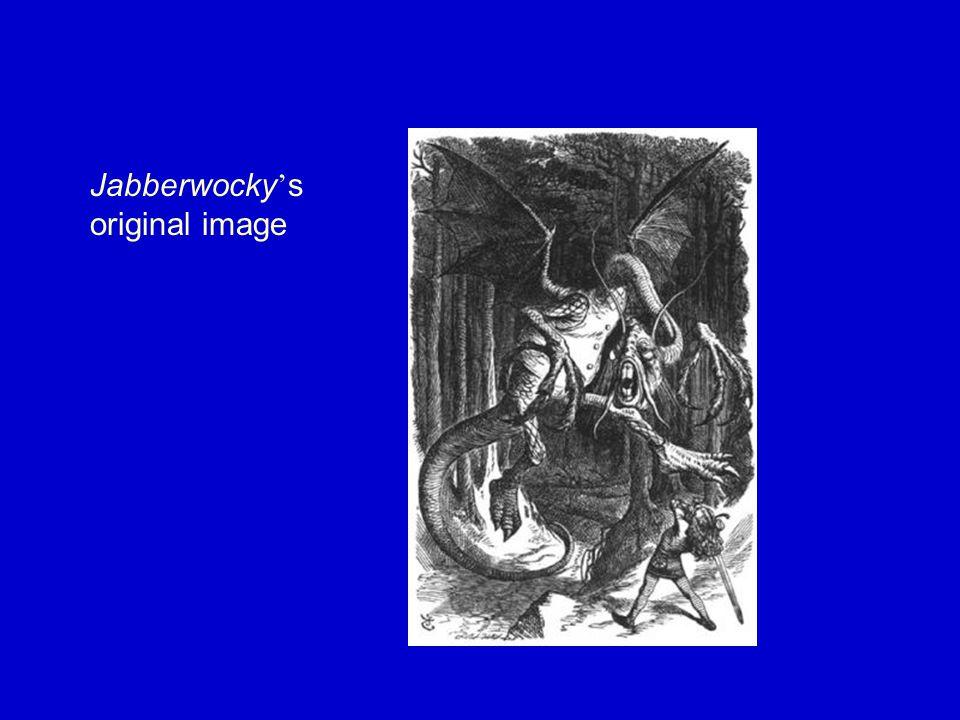 Jabberwocky ' s original image