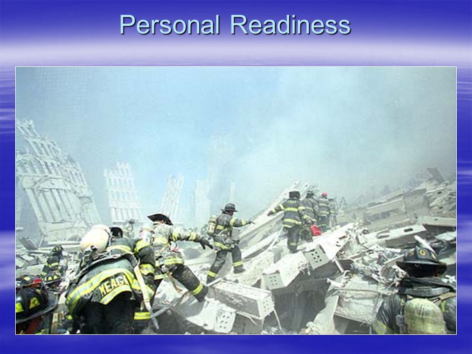 Personal Readiness