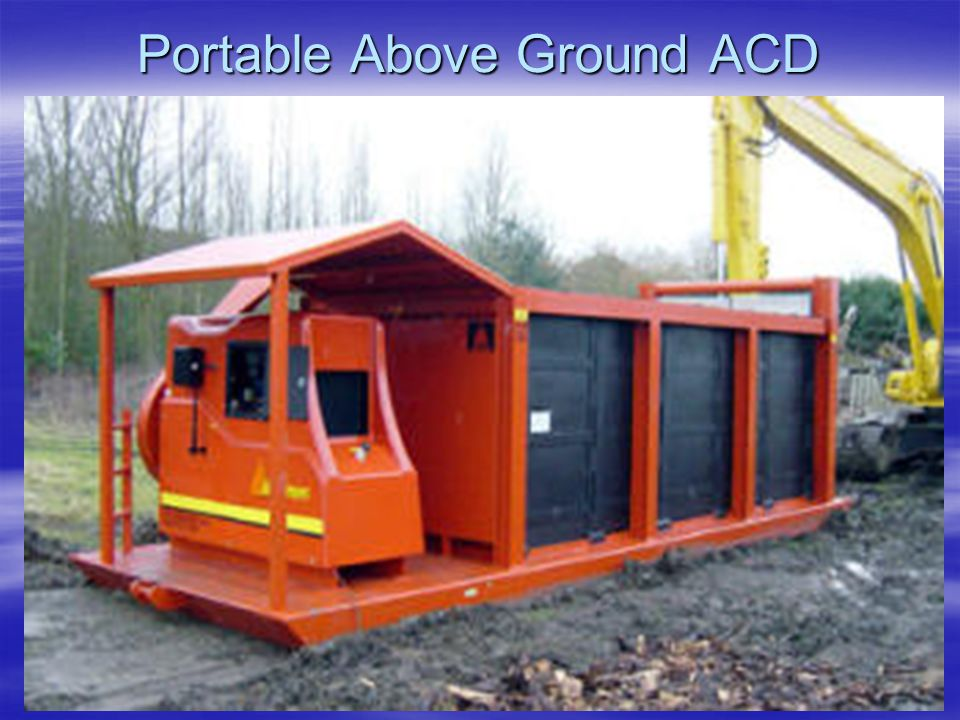 Portable Above Ground ACD