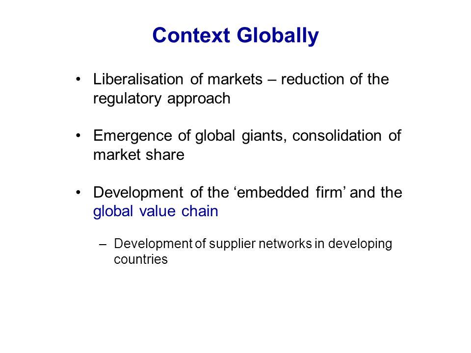 Key drivers of CSR Around the world NGO Activism Responsible investment Litigation Gov & IGO initiatives Developing Countries Foreign customers Domestic consumers FDI Government & IGO