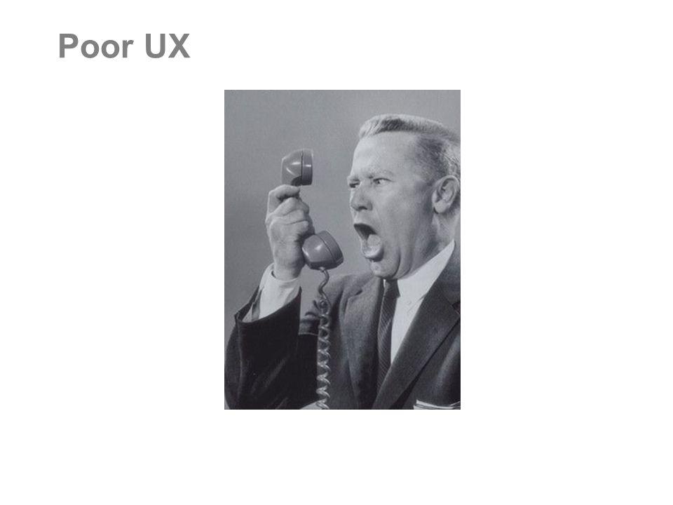 Poor UX