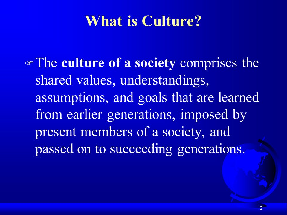 2 What is Culture.