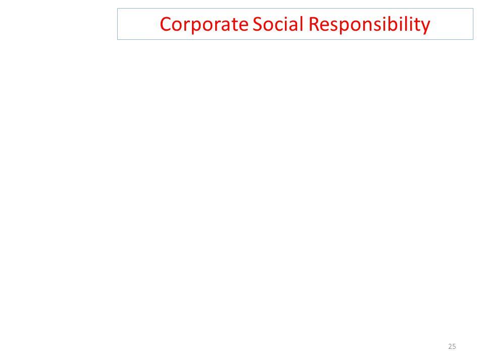 Corporate Social Responsibility 25