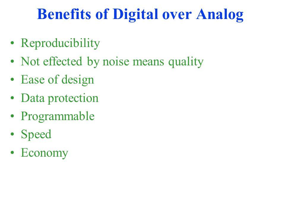 Digital Revolution Digital systems started back in 1940s.
