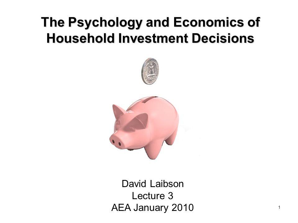 Should Defaults Influence Economic Outcomes.