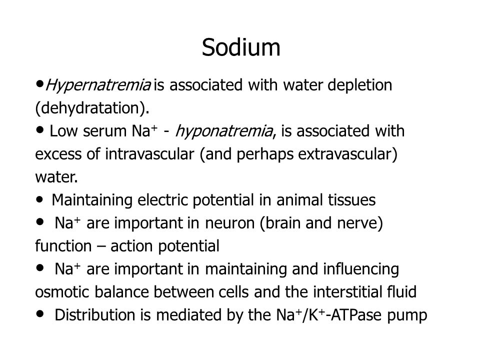 Potassium K + is the principal cation of the intracellular fluid.