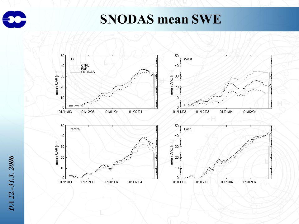 DA 22.-31.3. 2006 SNODAS mean SWE