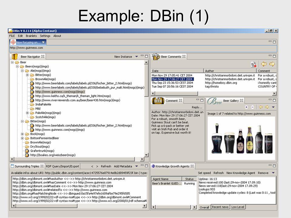 Example: DBin (1)