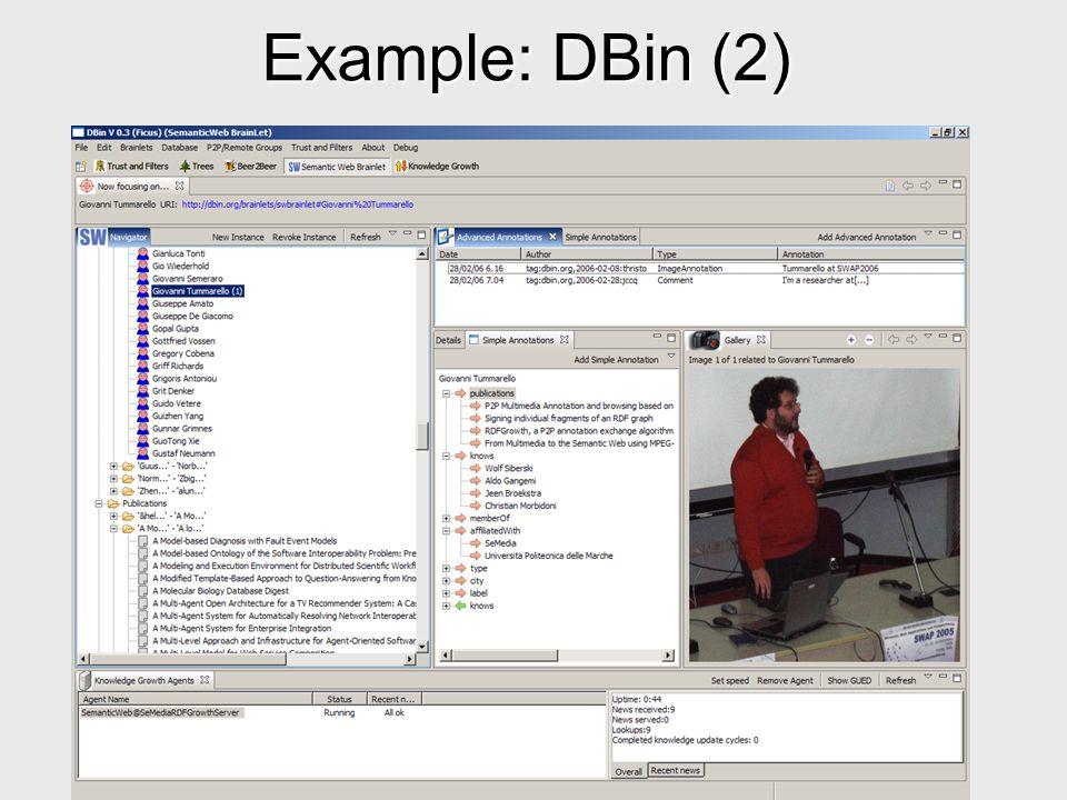 Example: DBin (2)