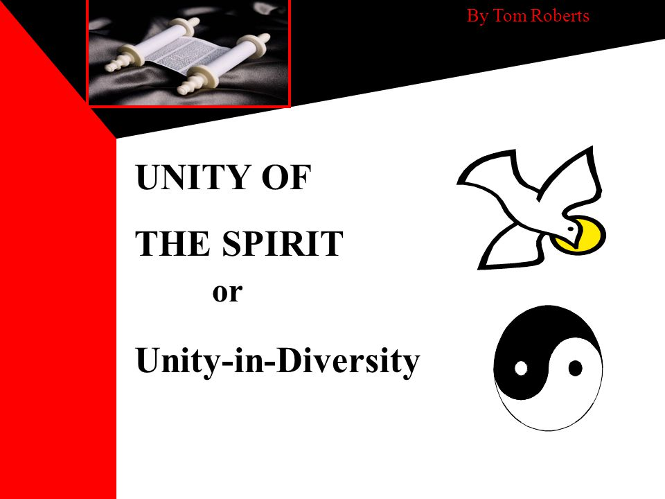 Unity of the Spirit Reflects Godhead - Oneness There is one body and one Spirit, just as you were called in one hope of your calling; one Lord, one faith, one baptism, one God and Father of all, who is above all, and through all, and in you all It is divine in its nature.