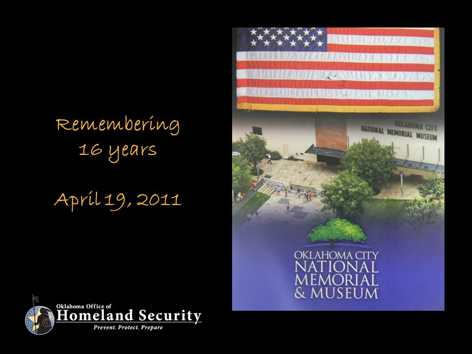 Remembering 16 years April 19, 2011