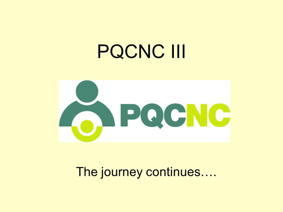 PQCNC III The journey continues….