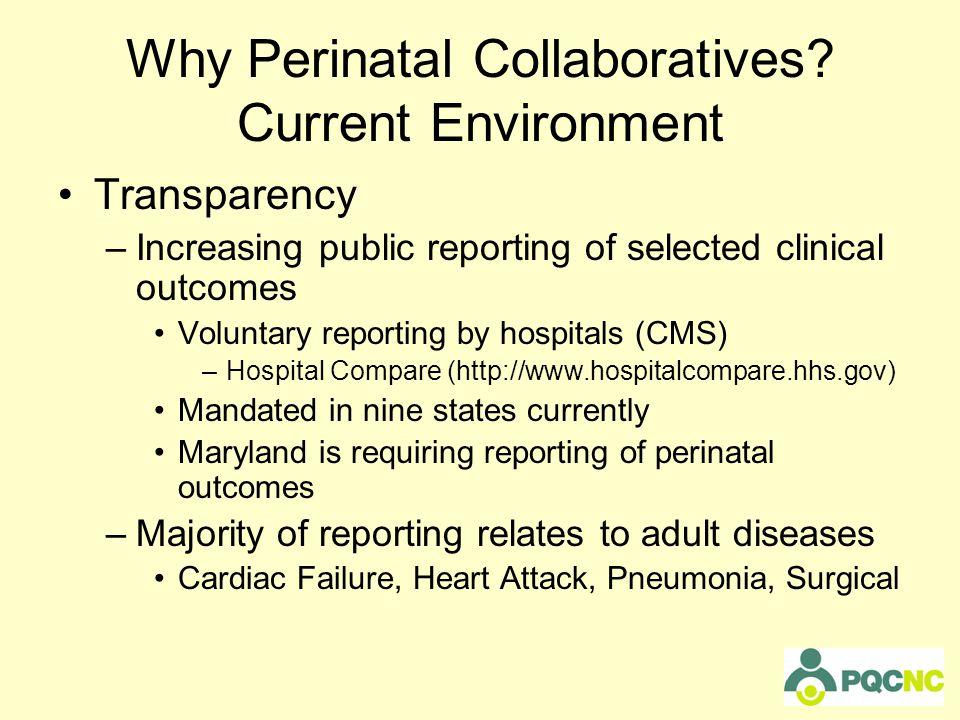Why Perinatal Collaboratives.