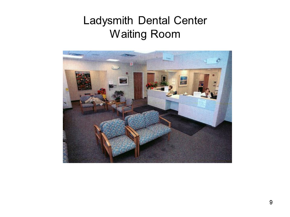 9 Ladysmith Dental Center Waiting Room